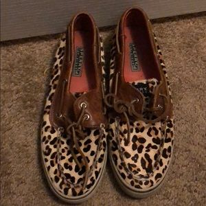 Leopard print sperry's. Only wore about twice.